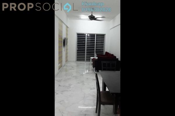 For Rent Condominium at Nusa Mewah, Cheras Freehold Semi Furnished 3R/2B 1k