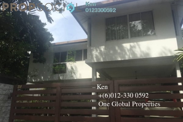 For Rent Bungalow at Petaling Jaya Commercial City, PJ South Freehold Semi Furnished 5R/5B 3.5k