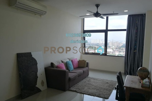 For Rent SoHo/Studio at Emerald Avenue, Selayang Freehold Semi Furnished 2R/2B 1.3k