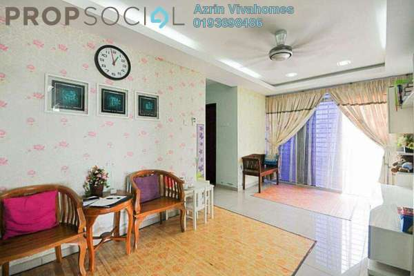 For Sale Semi-Detached at Taman Bentara, Telok Panglima Garang Freehold Semi Furnished 3R/2B 490k
