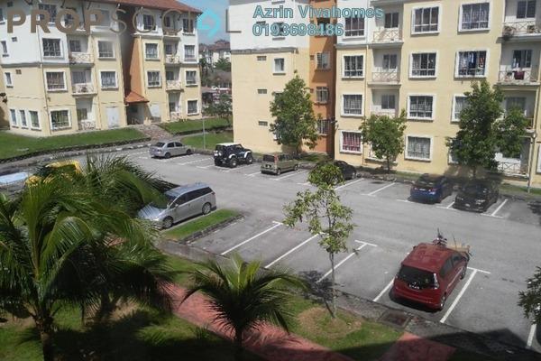For Sale Apartment at Seroja Apartment, Bukit Jelutong Freehold Semi Furnished 3R/2B 288k