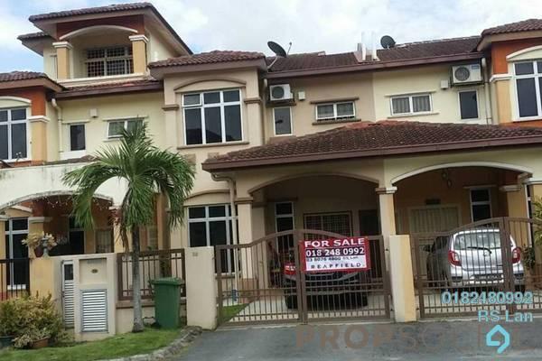 For Sale Superlink at Kota Warisan, Sepang Freehold Semi Furnished 4R/3B 580k