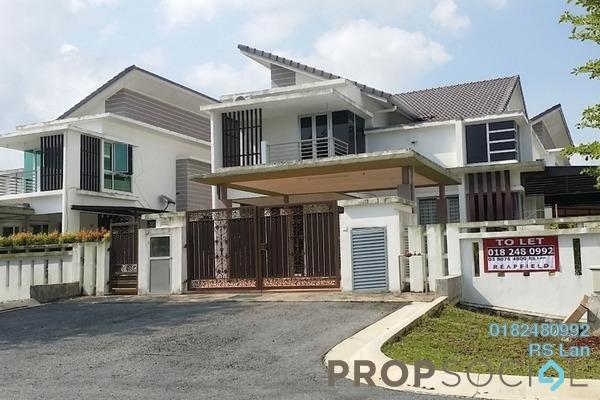 For Rent Semi-Detached at Rembulan, Bandar Enstek Freehold Semi Furnished 4R/4B 2.5k