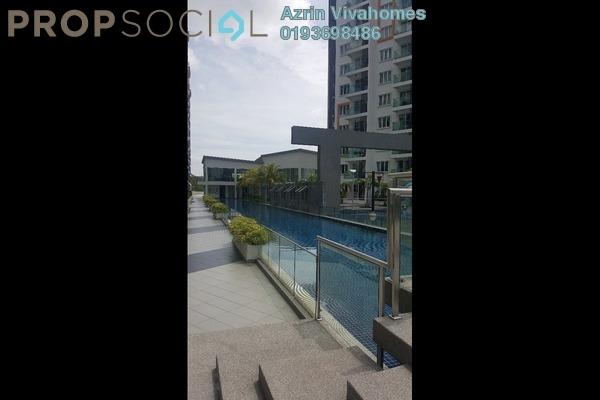 For Sale Condominium at Hijauan Saujana, Saujana Freehold Fully Furnished 3R/2B 820k
