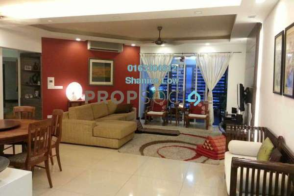For Rent Condominium at 9 Bukit Utama, Bandar Utama Freehold Fully Furnished 4R/4B 4.5k