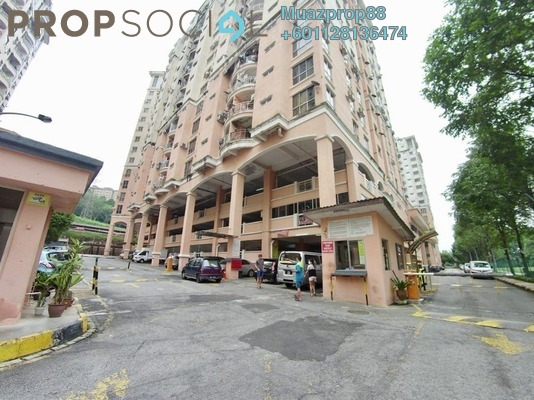 For Sale Apartment at Vista Saujana, Kepong Freehold Semi Furnished 3R/2B 260k