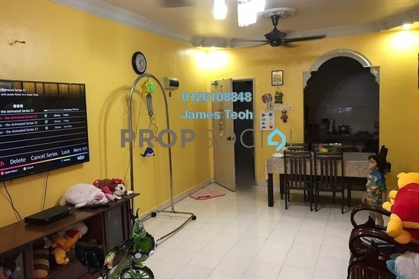 For Sale Apartment at Tropika Apartment, Klang Freehold Semi Furnished 3R/2B 280k