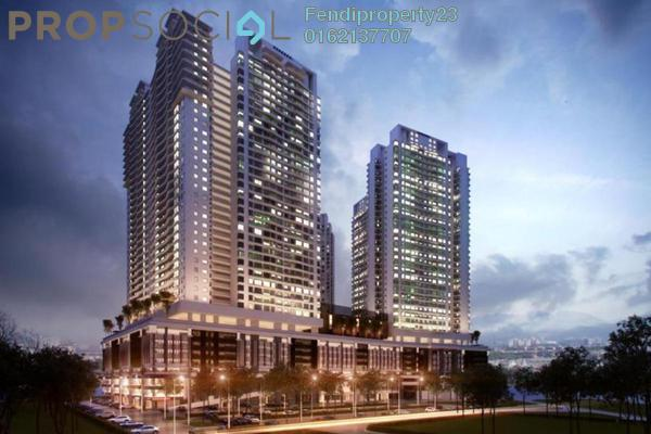 For Rent Condominium at KL Traders Square, Kuala Lumpur Freehold Semi Furnished 3R/2B 1.3k