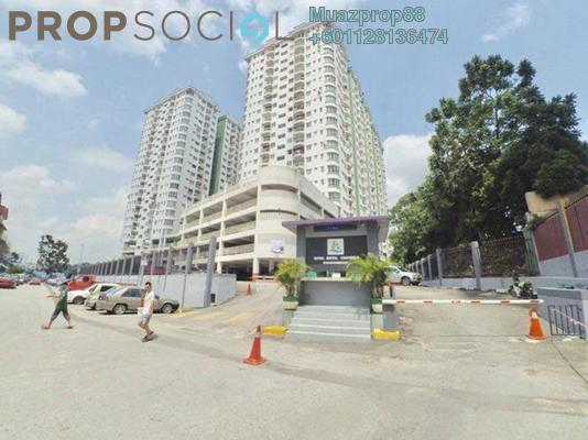 For Sale Condominium at Kepong Sentral Condominium, Sungai Buloh Freehold Semi Furnished 3R/2B 290k