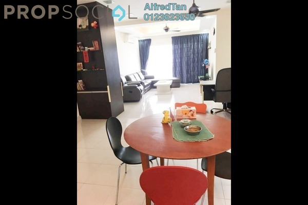 For Sale Condominium at Symphony Heights, Selayang Freehold Fully Furnished 4R/3B 450k
