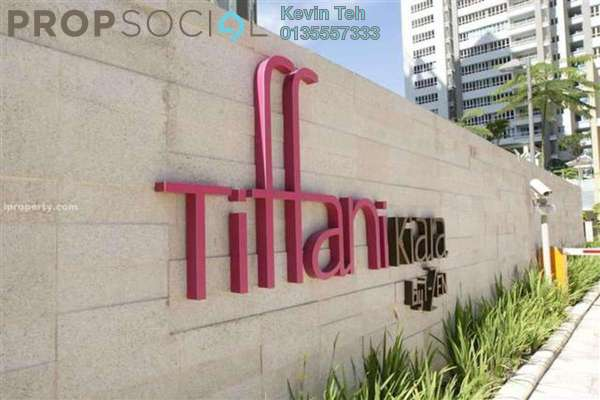 For Sale Condominium at Tiffani Kiara, Mont Kiara Freehold Fully Furnished 3R/3B 1.65m