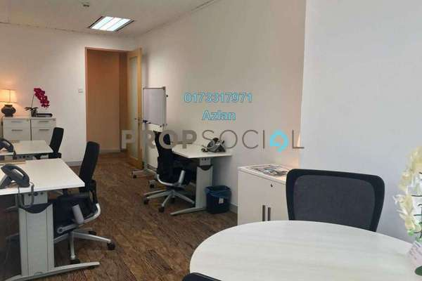 For Rent Office at Etiqa Twins, KLCC Freehold Fully Furnished 0R/0B 5.5k