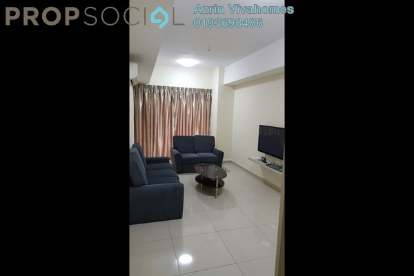 For Sale Serviced Residence at Suria Jelutong, Bukit Jelutong Freehold Fully Furnished 3R/2B 790k