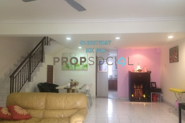 For Sale Link at Bandar Damai Perdana, Cheras South Freehold Semi Furnished 4R/3B 618k