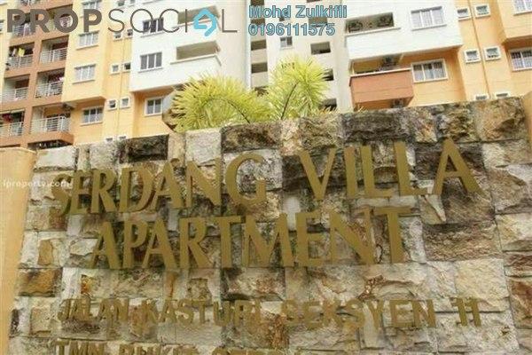 For Sale Apartment at Serdang Villa Apartment, Seri Kembangan Freehold Unfurnished 3R/2B 300k