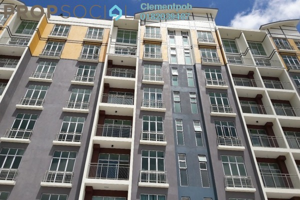 For Sale Apartment at Barrington Square, Brinchang Freehold Semi Furnished 1R/1B 324k