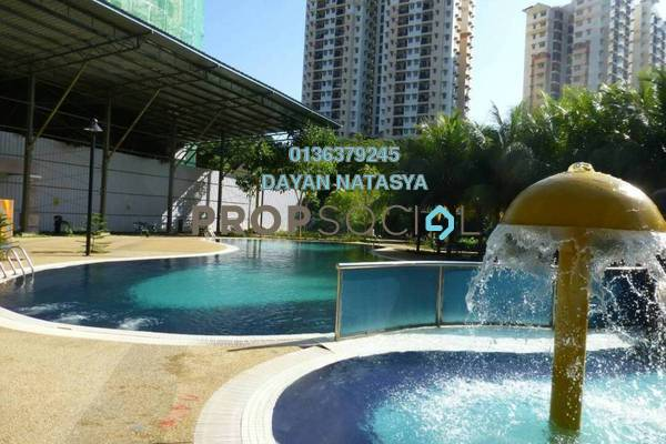 For Sale Serviced Residence at Saujana Aster, Putrajaya Freehold Semi Furnished 3R/2B 420k