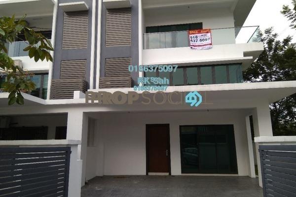 For Sale Terrace at Taman Setapak Ria, Setapak Freehold Unfurnished 5R/5B 1.65m