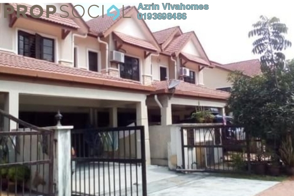 For Sale Terrace at Sunway Alam Suria, Shah Alam Freehold Semi Furnished 4R/3B 670k
