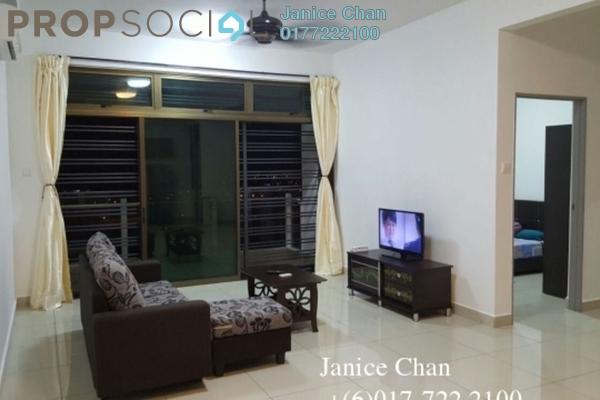 For Rent Serviced Residence at Parc Regency, Johor Bahru Freehold Fully Furnished 3R/2B 1.5k