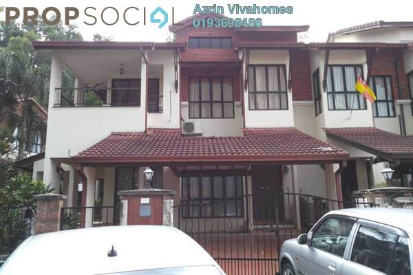 For Sale Terrace at Space U8, Bukit Jelutong Freehold Semi Furnished 5R/5B 1.5m