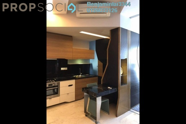 For Rent Condominium at VERVE Suites, Mont Kiara Freehold Semi Furnished 0R/1B 2.3k