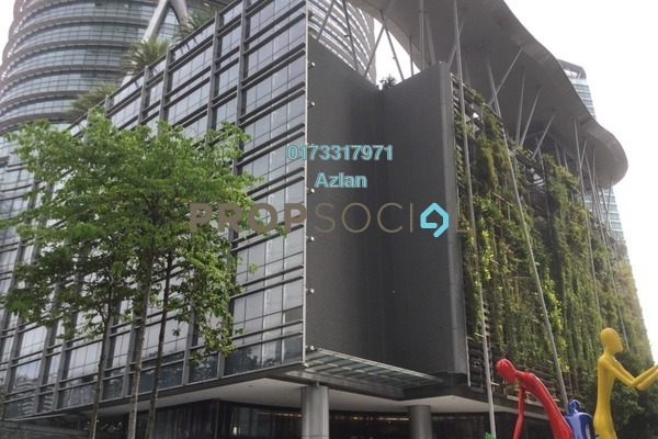For Rent Office at Naza Tower, KLCC Freehold Unfurnished 0R/0B 15.6k