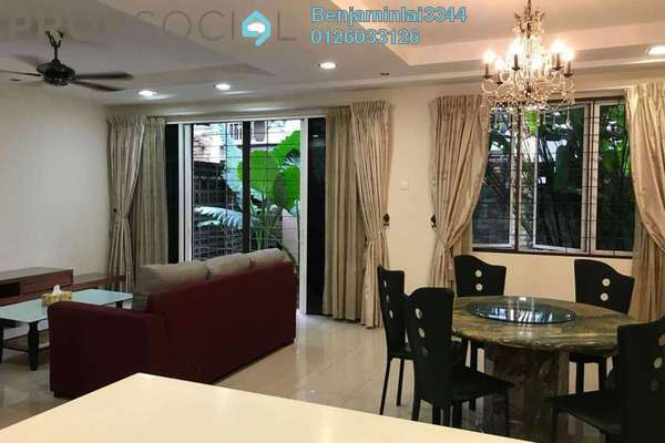 For Rent Terrace at Nadia, Desa ParkCity Freehold Fully Furnished 4R/4B 6k