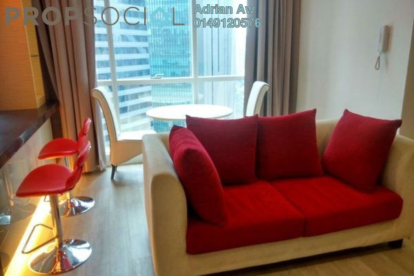 For Rent Condominium at Binjai 8, KLCC Freehold Fully Furnished 1R/1B 3.5k