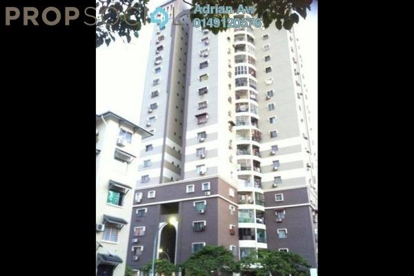 For Rent Condominium at Pandan Height, Pandan Perdana Freehold Semi Furnished 3R/2B 1.5k