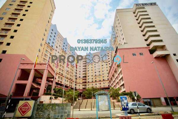 For Sale Condominium at Brunsfield Riverview, Shah Alam Freehold Semi Furnished 3R/2B 300k