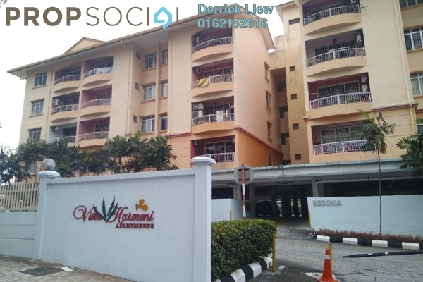 For Sale Terrace at Vista Harmoni, Cheras South Freehold Unfurnished 3R/2B 390k