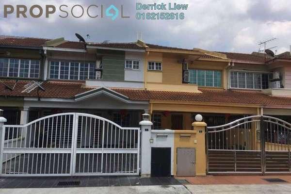 For Sale Terrace at Taman Taming Emas, Kajang Freehold Unfurnished 4R/3B 480k