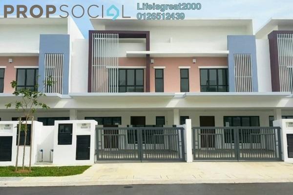 For Sale Terrace at Setia Eco Park, Setia Alam Freehold Semi Furnished 4R/4B 715k