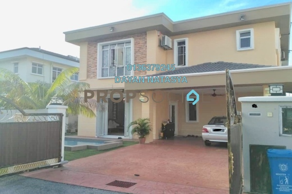 For Sale Bungalow at Kota Kemuning Hills, Kota Kemuning Freehold Semi Furnished 4R/4B 1.25m