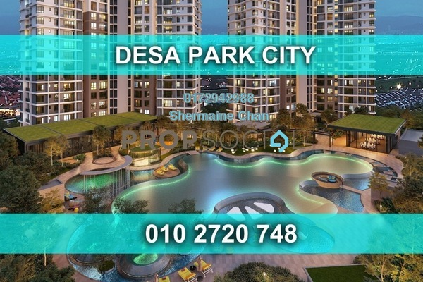 For Sale Condominium at South Brooks, Desa ParkCity Freehold Semi Furnished 2R/2B 752k