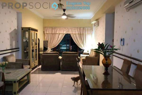 For Sale Condominium at Hartamas Regency 1, Dutamas Freehold Fully Furnished 3R/2B 700k