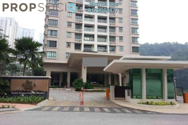 For Sale Condominium at Casa Kiara II, Mont Kiara Freehold Semi Furnished 4R/3B 708k