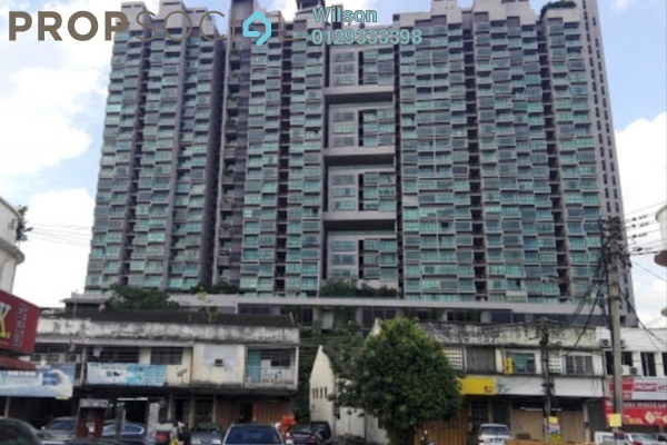 For Rent Condominium at The Leafz, Sungai Besi Freehold Fully Furnished 2R/2B 1.7k