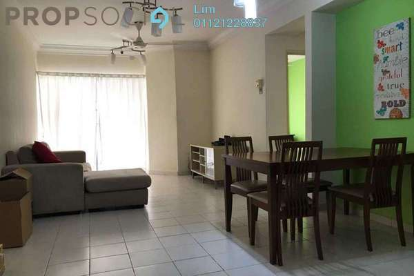 For Rent Condominium at Warisan Cityview, Cheras Freehold Semi Furnished 3R/2B 1.8k