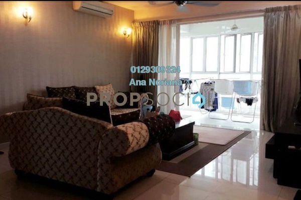For Sale Condominium at Mont Kiara Meridin, Mont Kiara Leasehold Semi Furnished 4R/3B 1.4m