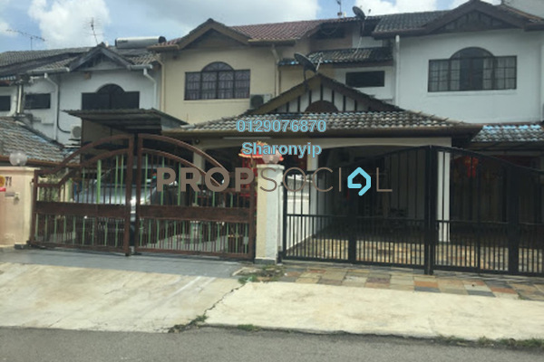 For Rent Terrace at Taman Sri Bahagia, Cheras South Freehold Semi Furnished 4R/3B 1.2k