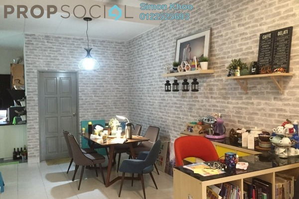 For Sale Terrace at Bandar Putera 2, Klang Leasehold Semi Furnished 3R/2B 370k