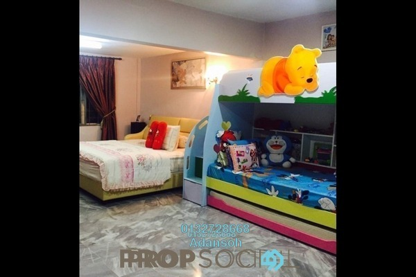 For Sale Terrace at Taman Sri Sinar, Segambut Freehold Semi Furnished 3R/3B 630k
