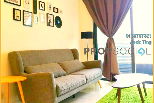 For Rent Condominium at The Veo, Melawati Freehold Fully Furnished 1R/1B 2k