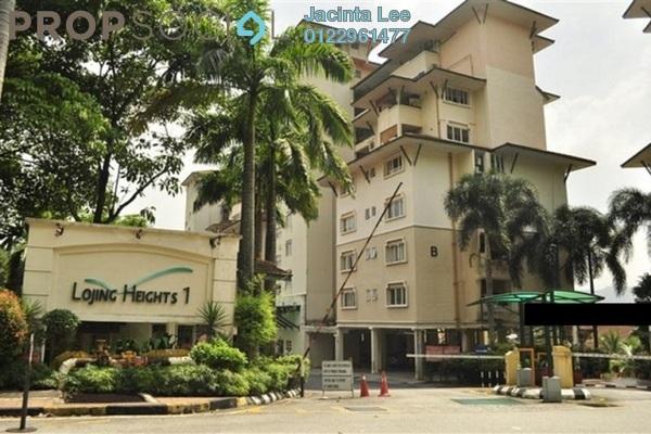 For Sale Condominium at Lojing Heights 1, Wangsa Maju Freehold Semi Furnished 3R/2B 543k