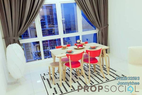 For Rent Condominium at EcoSky, Jalan Ipoh Freehold Fully Furnished 3R/2B 3.7k