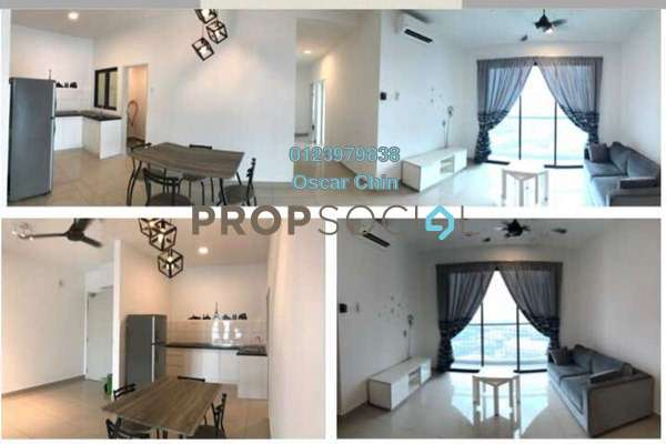 For Rent Condominium at Parkhill Residence, Bukit Jalil Freehold Fully Furnished 3R/2B 3k