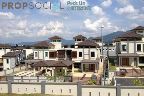 For Rent Semi-Detached at Ivory Villas, Mantin Freehold Semi Furnished 6R/6B 4.2k