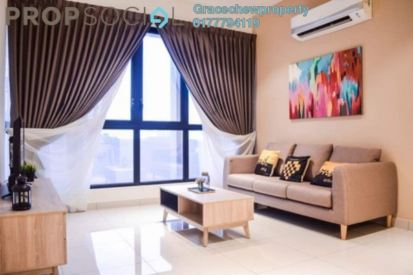 For Rent Serviced Residence at EcoSky, Jalan Ipoh Freehold Fully Furnished 3R/2B 2.8k